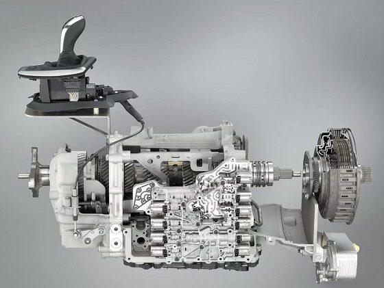 фото роботизированной коробки передач в разрезе